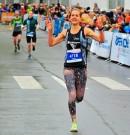 Janina Meyer vom LC 93 Delmenhorst läuft Kreisrekord