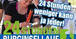 Pressemitteilung 03/18: Teilnehmerlimit beim Burginsellauf erreicht