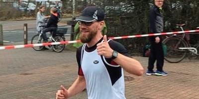Der aktuelle Spitzenläufer des Lauf Clubs 93 Delmenhorst: Jens Weischenberg. Foto: Dieter Meyer