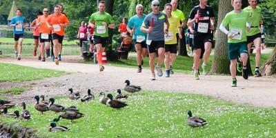 Sportliche Höchstleistung und Teamspaß in der Graft-Idylle vereint der 24-Stunden-Lauf. Archivfoto: Andreas Nistler