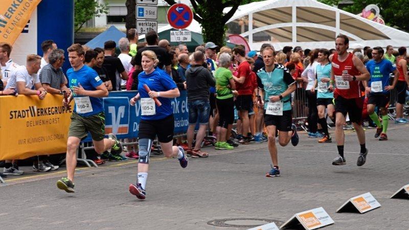 135 Einzelläufer und 61 Mannschaften zählte das Sportevent im vergangenen Jahr.Foto: Jan Eric Fiedler